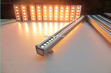 New 1.2 m long Warm White 36W 120V IP65 Led wall washers with 3 Years Warranty