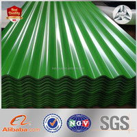 Color Zinc Coated Corrugated Metal Roofing Sheet