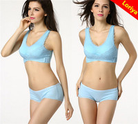 Ladies OEM Plus Size New Arrival Genie Lace Bra With Removable Pad