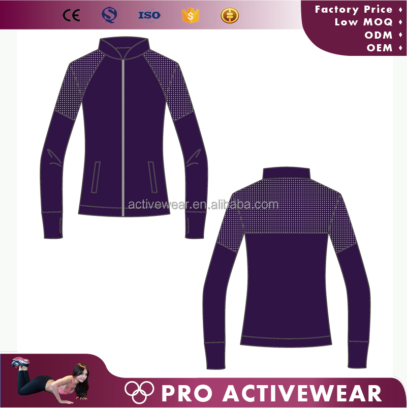 factory price custom polyester sports jacket wholesale team sports jacket