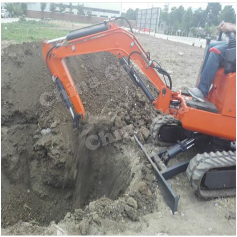 Small Excavators With Bucket And Hammer
