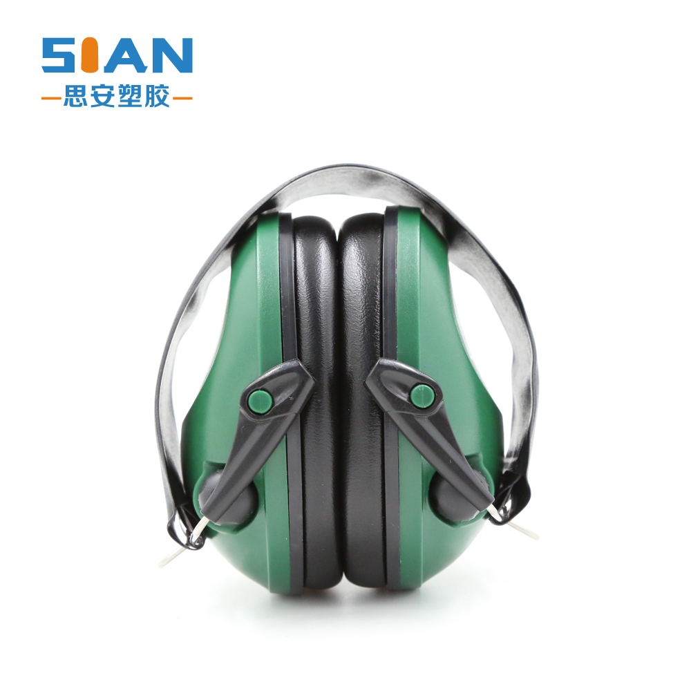 Noise cancelling automatic electronic ear muff for shooting