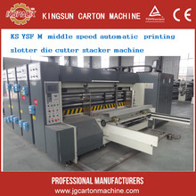 water transfer corrugated carton box flexo printing slotting die cutting machinery