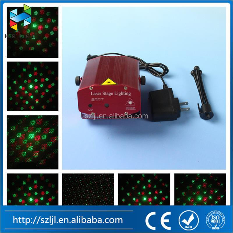 Laser show red & green color Mini Laser stage Light for DJ KTV night club