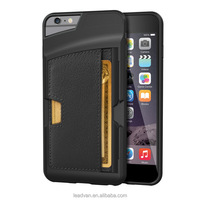 High Quality Back Card Holder and Wallet Protective Case For Iphone 6 Plus Presale