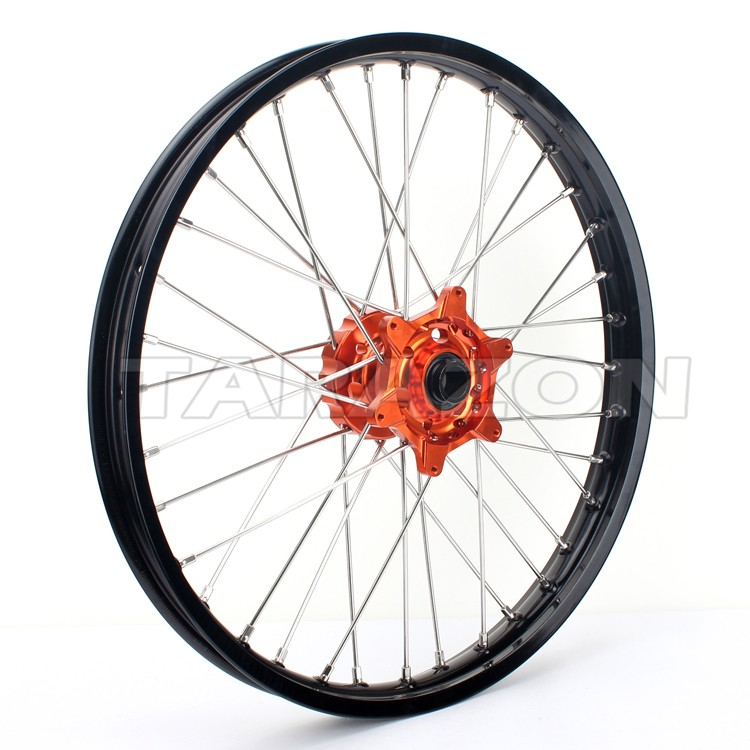 Aluminum motorcycle spoke wheels for Husquvarna