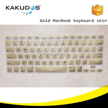 12 colors stylish for macbook keyboard protective cover skin for all macbook
