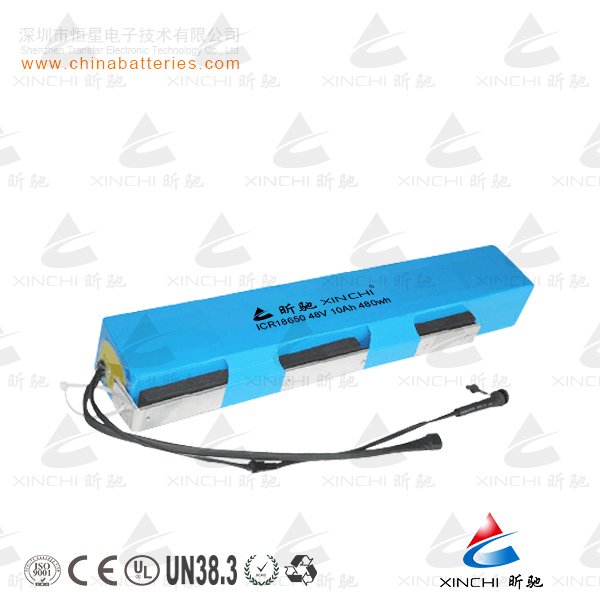 High performance 18650 li-ion 15S2P battery pack 54V 4.4Ah with best quality for mini scooter
