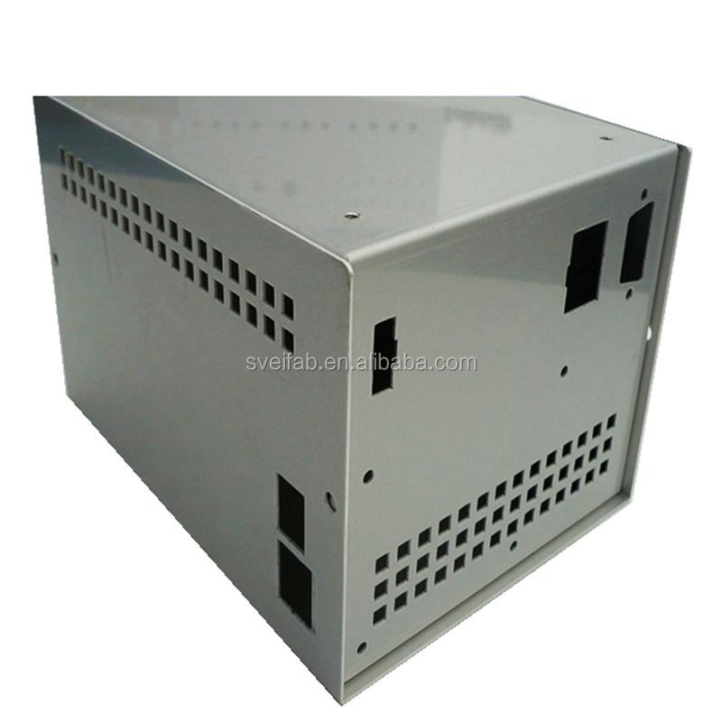 Customized stainless steel computer case sheet metal fabrication