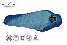 High quality hollow cotton down Waterproof mummy sleeping bag