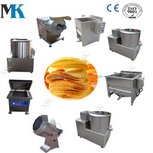 Small Potato Chips Making Machine Production Line Frozen French Fries machinery for Sale