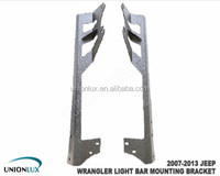 Brackets for offroad light bar 300w dual led bar light Jeep JK wrangler 2007-2013