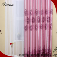 Fancy window curtain,new design fabric curtain for door,printed blackout curtain fabric