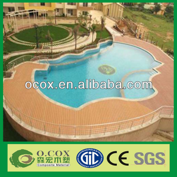 China Professional Manufacturer Cheap Price WPC Swimming Pool Composite Decking