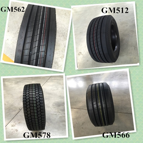 china manufacturer outstanding new truck tyre 12R22.5