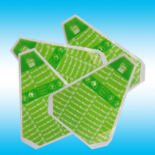 Factory price disposable plastic triangle sandwich packaging bag