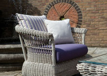 Fully Upholstered Swivel Glider Chair and Ottoman rattan rocking chair