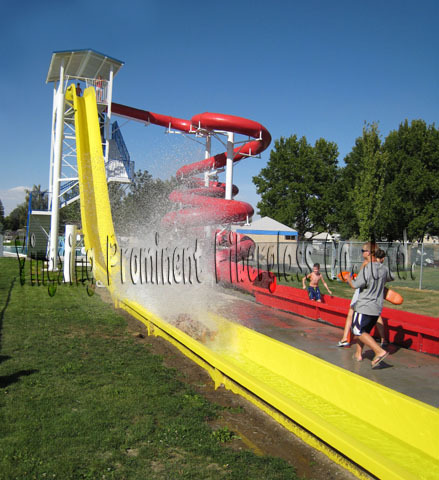 Exciting aqua park water sports equipment