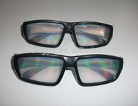 best seller 13500 lines plastic rainbow glasses diffraction glasses