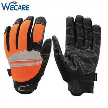 High Visibility Reflective Performance Mechanics Work Traffic Car Driving Gloves