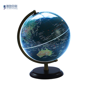 New Style Durable Small Plastic World Map