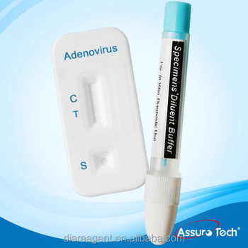 One step Infectious Adenovirus ADEN rapid Test with CE&CFDA