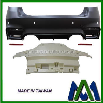 FOR BMW F30 REAR BUMPER M3 LOOK 2012 TWIN MUFFLER OUTLET AUTO BODY PARTS REAR BUMPER