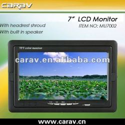 "Best 7"" car tft lcd monitor with speaker"