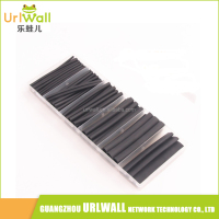 85PCS Electrical Shrinkable Wrap Wire Heat Shrink Tubing Ratio 3:1 Polyolefin Sleeving Tube Cable Assortment 3XG Kits
