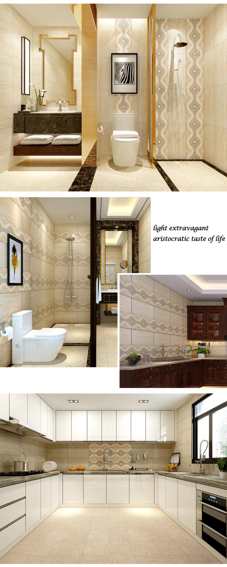 decorative wall tiles. New Design 30x60cm Glossy Decorative Wall Tile For Bathroom Tiles