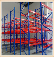 Storage Upright Frame Heavy Duty Stacking Rack,Steel Pallet Shelving