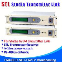 FMUSER STL10 Studio to portable radio for FM Radio Station 10-40km Studio to Transmitter Hill-RC4