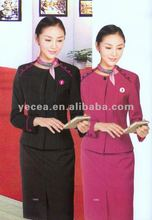 Ladies Office Uniform suits /office unifrom/hot sell staff/