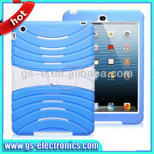 Hot sale Good design with high quality stand cases for ipad 2/3/4 handheld case