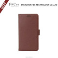 Eco-friendly pu leather material stand folio wallet cover for Sony Xperia X smartphone case