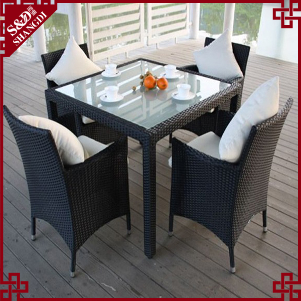 High end contemporary 5pcs modern rattan furniture