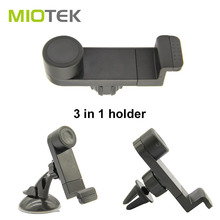 Good quality mobile phone holder 3-in-1 car phone mount holders air vent/sucker phone holders for car