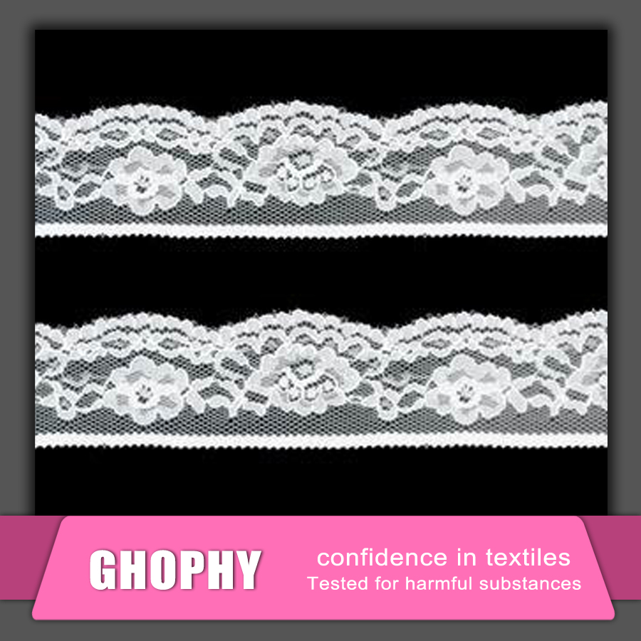 Black White Cord Lace, Black Lace Beaded Trimming