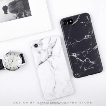 2017 hot sell super amazing reality IMD marble Soft tpu phone case for iphone 7 7plus Black White marble grain for i6 i6 plus