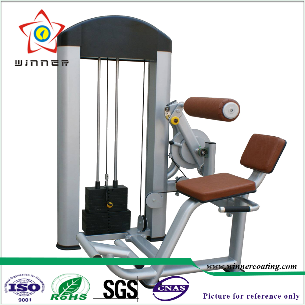 Indoor 2017 newest gym equipment chest press exercise equipment sand black, silver white,silver gray+varnish Powder <strong>Coatings</strong>