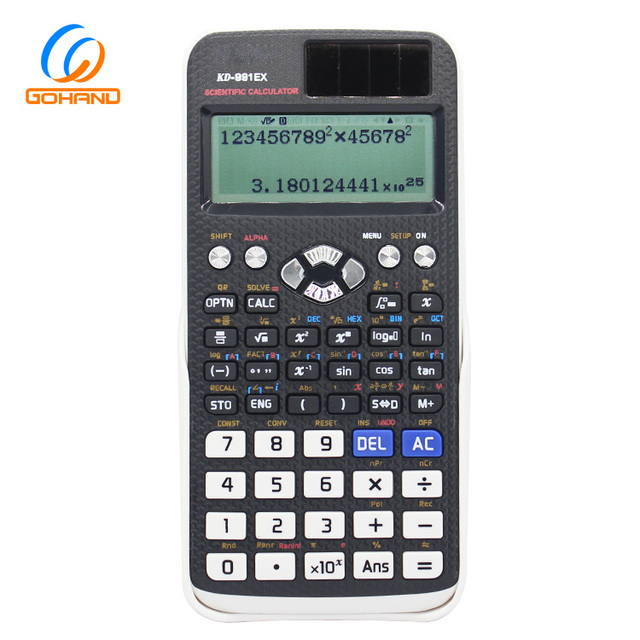 Multifunctional Student Educational High-Tech Scientific Calculator FX-991EX