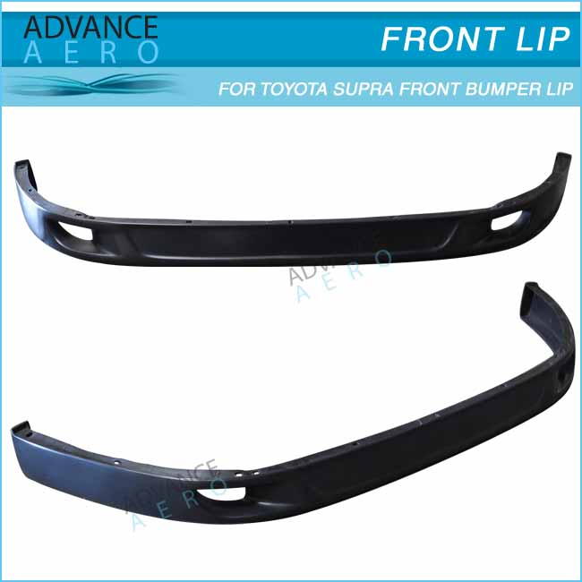 BODY KIT FOR 1993-1998 TOYOTA SUPRA FRONT BUMPER LIP V2 STYLE PU BODY PART