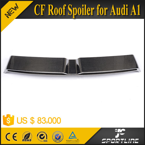 Carbon R18 Wing Hatchback Window Diffuser for Audi Active 2-Door