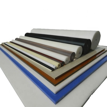Beige ESD delrin/acetal plate antistatic sheet