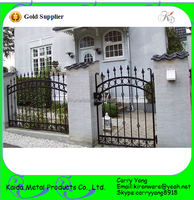 Garden and House Low Carbon Steel Gates Grill Design, Wrought Iron Gates Grill Design