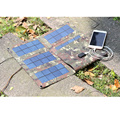 Outdoor Foldable Solar Panel Charger Portable External Battery Charger for Camping
