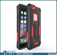 China Supplier Tough Armor Phone Case Back Cover for iPhone 6