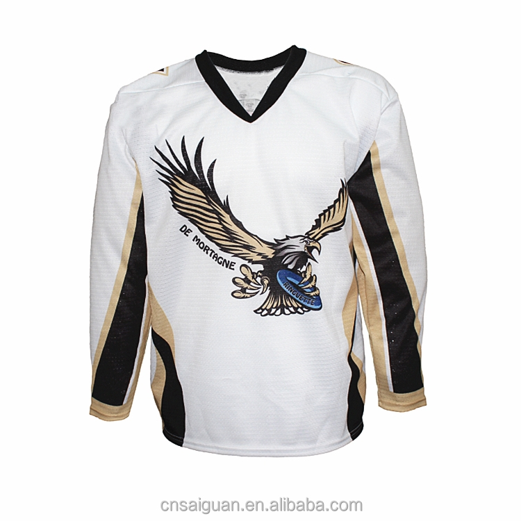 Fully customization lightweight resistant ringette jerseys custom sublimated ice hockey jersey