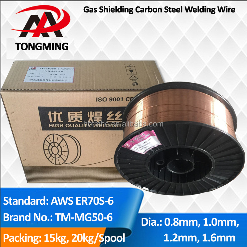 CO2 GAS SHIELDING WELDING WIRE ER70S-6 MIG