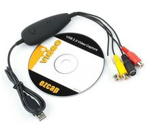 USB video capture from analog to digital USB video grabber ezcap172